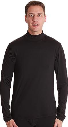 Men/'s Compression Mock Neck Thermal Shirt Running Basketball Athletic Long Pants