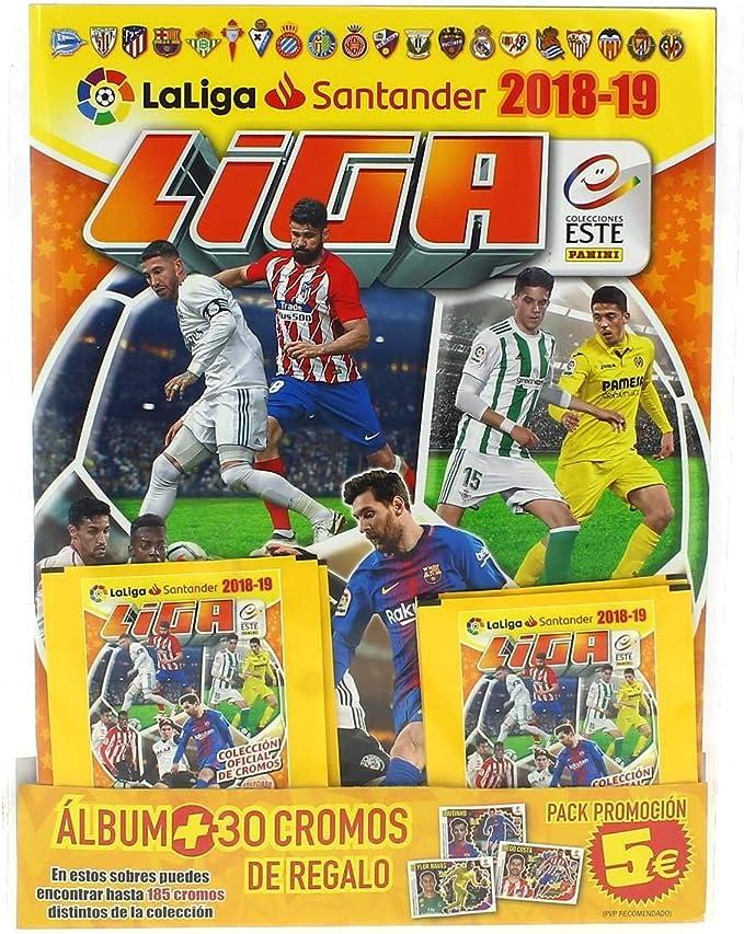 Panini - Pack álbum + 5 Sobres Liga Este 18/19: Amazon.es: Juguetes y juegos