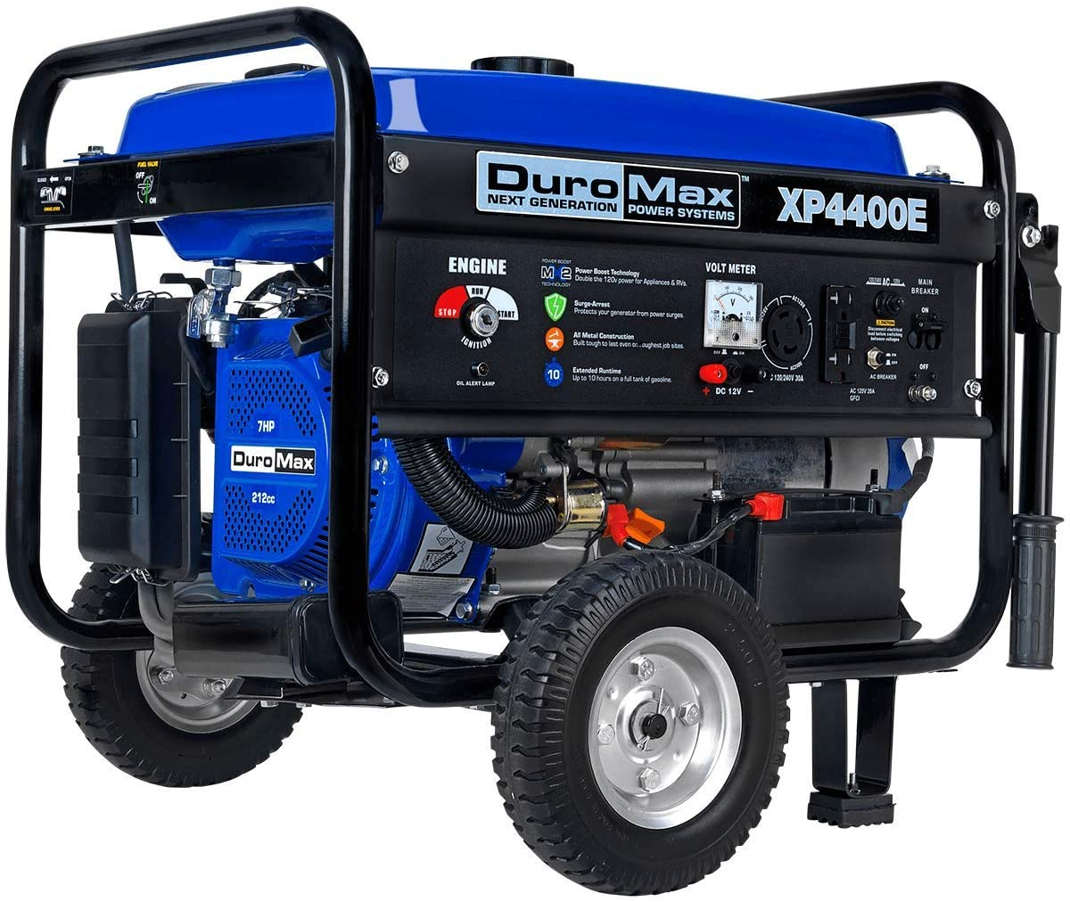 DuroMax XP4400E 4400 watt 7-Hp RV Grade Gas Generator