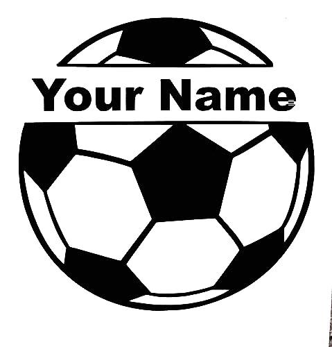 WickedGoodz White Vinyl Soccer Mom Decal Transfer Perfect Soccer Mom Gift Sports Bumper Sticker