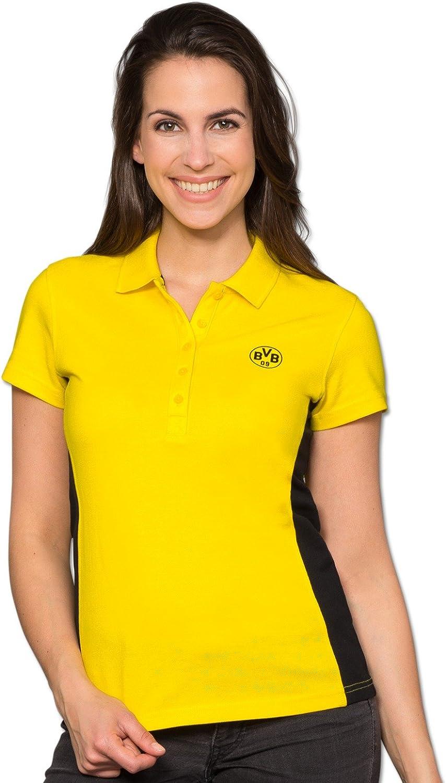 Borussia Dortmund BVB de Polo – Camiseta con emblema para mujeres ...