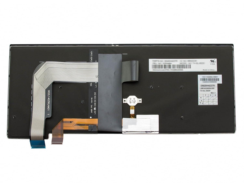deutsch IPC-Computer Tastatur DE Serie schwarz//schwarz matt mit Backlight und Mouse-Stick Original f/ür Lenovo ThinkPad T460s 20FA//20F9