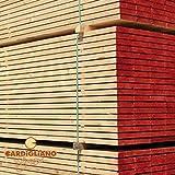 Tavola / Listone tavolone carpenteria in legno abete 25 x 4,8 x 200 cm