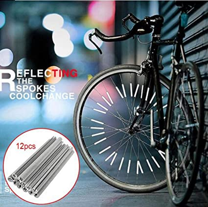 1 Pair bicycle spoke reflector warning light bicycle wheel rim reflective SL