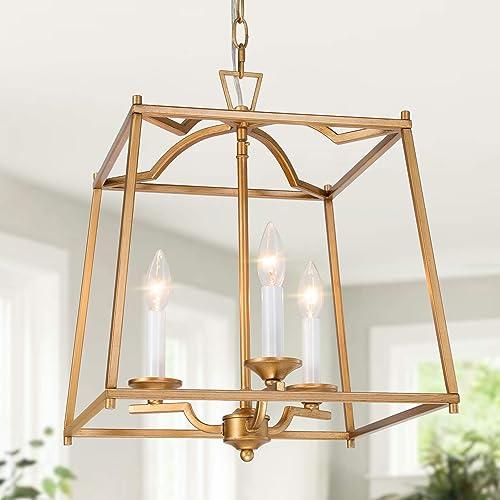 Cheap KSANA Gold Pendant Light Fixtures living room chandelier for sale