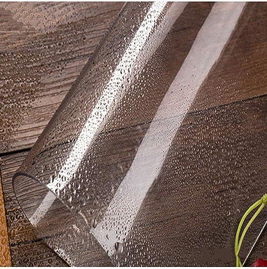 ZXQ Tela Que Cubre los Aviones a Prueba de Polvo del Coche Cubierta de pérgola Espesado PVC Cortina Impermeable Transparente: Amazon.es: Hogar