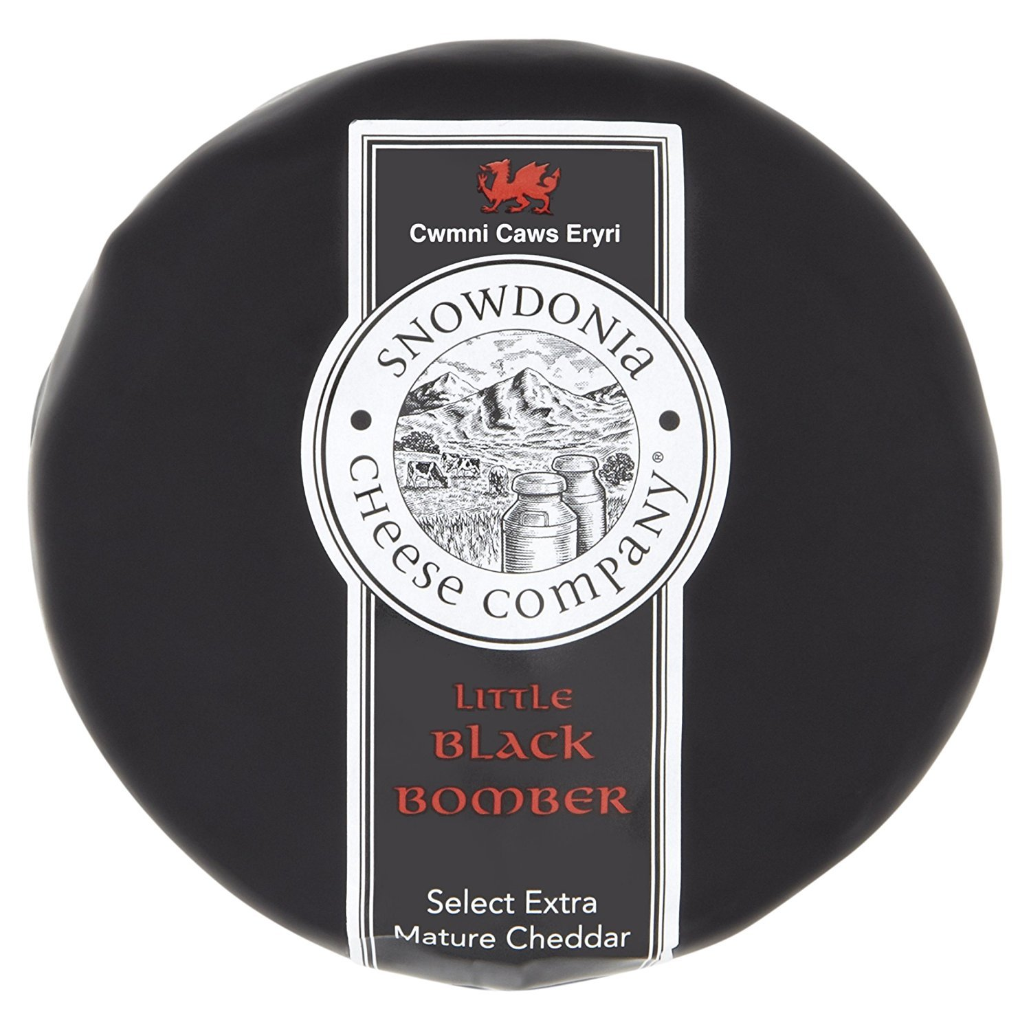 Snowdonia Cheese Company - Black Bomber Truckle 14oz