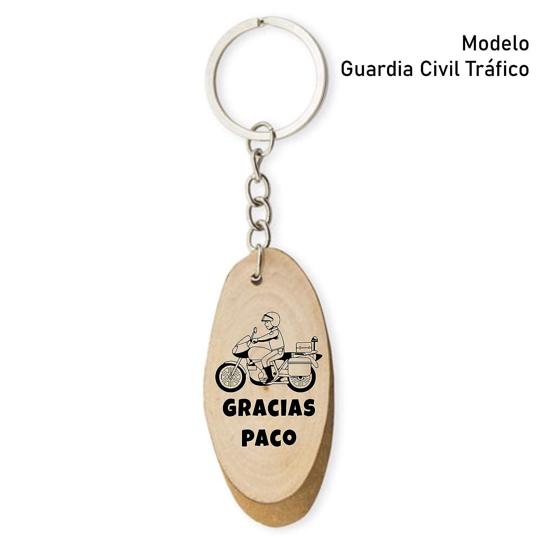 Llavero Personalizado Gracias Sanitarios, Policía, Guardia Civil, Médicos, Transportistas: Amazon.es: Handmade