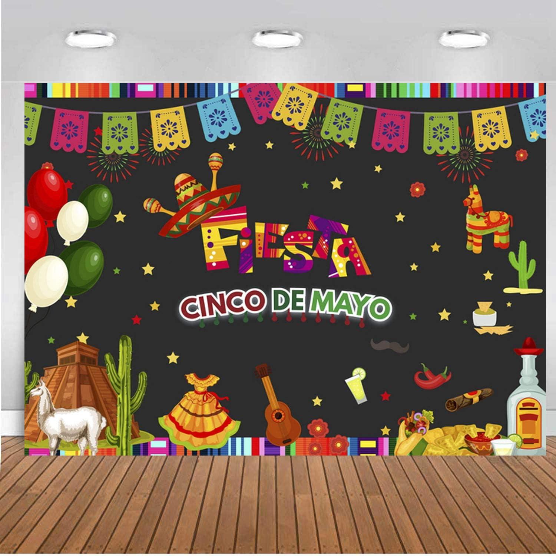 Mexikanische Partei Dekoration Fiesta Party Banner Hintergrund Für Mexikanische Dekoration Hochzeit Geburtstag Babyparty 1 Küche Haushalt