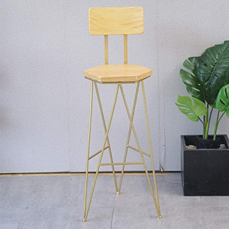 Stupendous Amazon Com Abarb Iron Bar Stool High Chair Counter Stool Theyellowbook Wood Chair Design Ideas Theyellowbookinfo