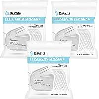MeaVita FFP2 masker (30 stuks), EU CE-gecertificeerde mond- en neusbescherming conform EN149:2001+A1:2009…