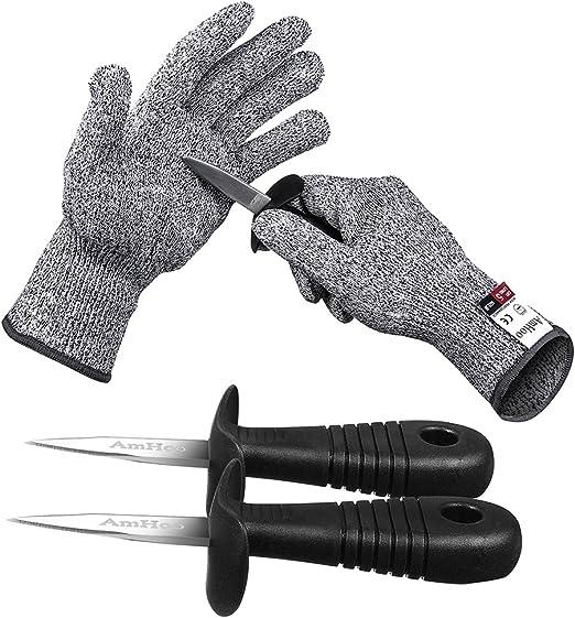 Amazon.com: AmHoo - Juego de guantes resistentes a los ...