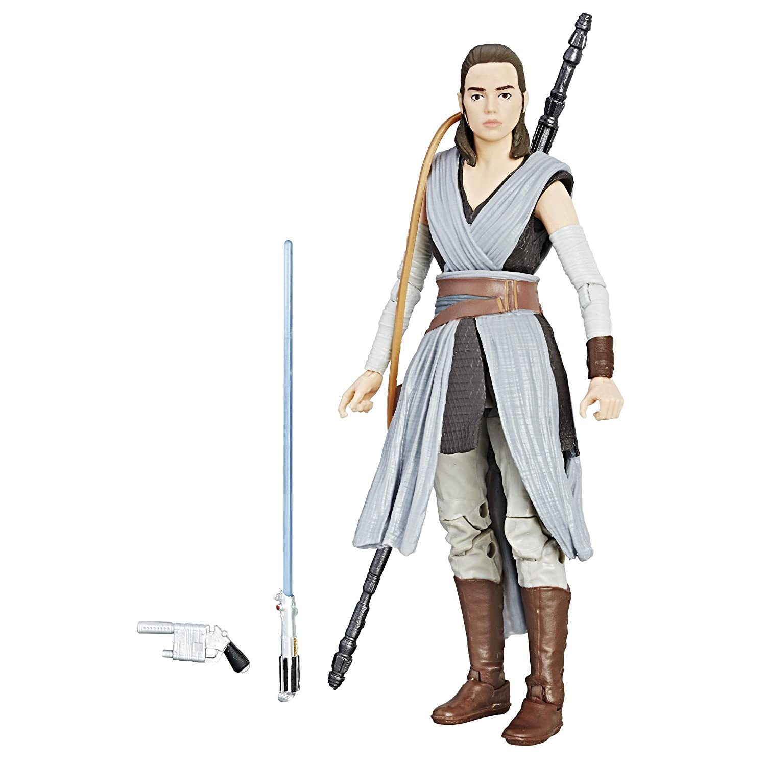 Star Wars The Black Episode 8 Series Rey (Jedi Training), 6-inch