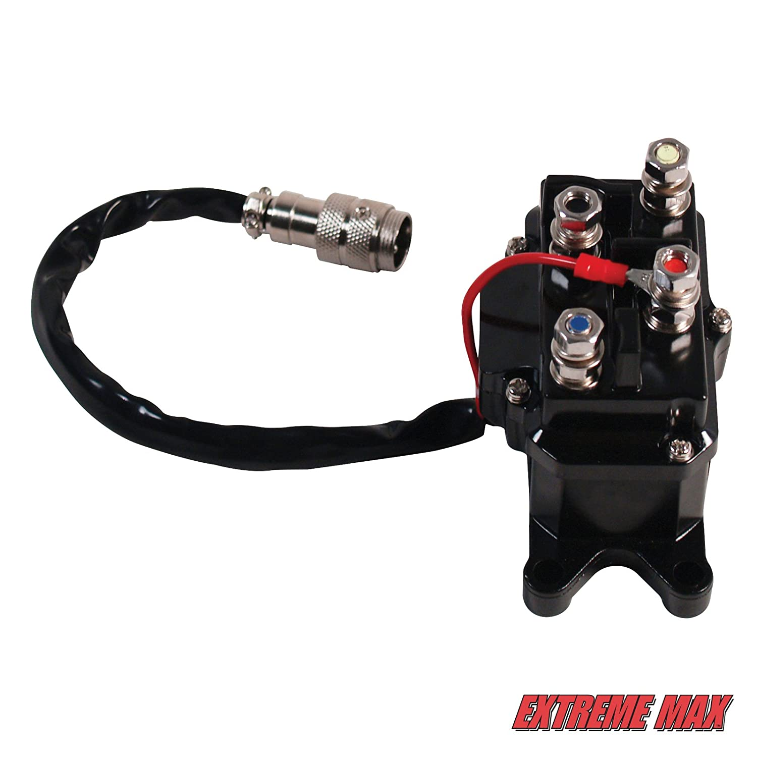 Relay for 2000-3600 lb ATV Winches Extreme Max 5600.3004 Universal Replacement Contactor