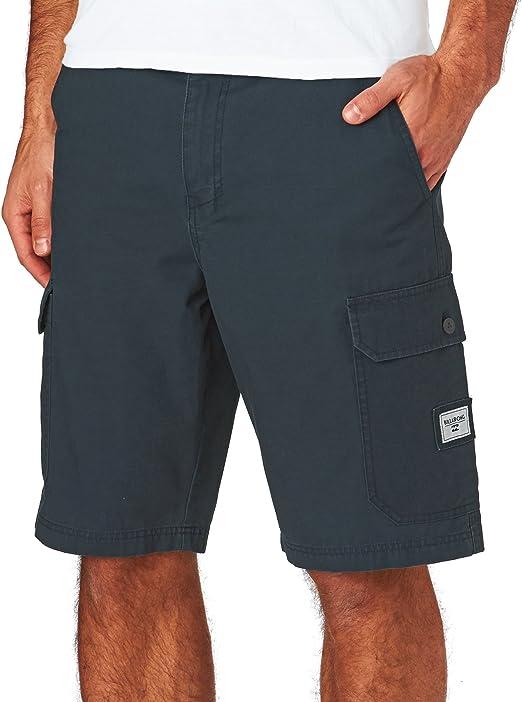 TALLA talla 28. BILLABONG Pantalones Cortos Cargo para Hombres día.