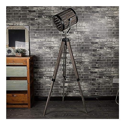 Lámparas de pie American Industrial Retro Loft Lámpara de ...