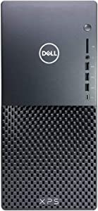 2021 Dell XPS 8940 Tower Desktop Computer, 10th Gen Intel Core i5-10400 6-Core up to 4.3GHz, 16GB DDR4 RAM, 256GB PCIE SSD + 1TB HDD, USB 3.1 Type-C, WiFi, for Business and Student, Windows 10 Pro