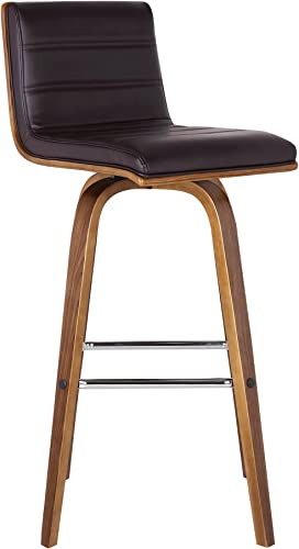 Armen Living Vienna Counter Height Bar Stool Kitchen and Dining