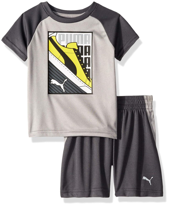 PUMA Toddler Boys T-Shirt /& Short Set