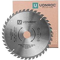 VONROC Sågklinga för geringssåg - 216 x 30 mm - 40T - för trä - universal - även lämplig för bordssågar