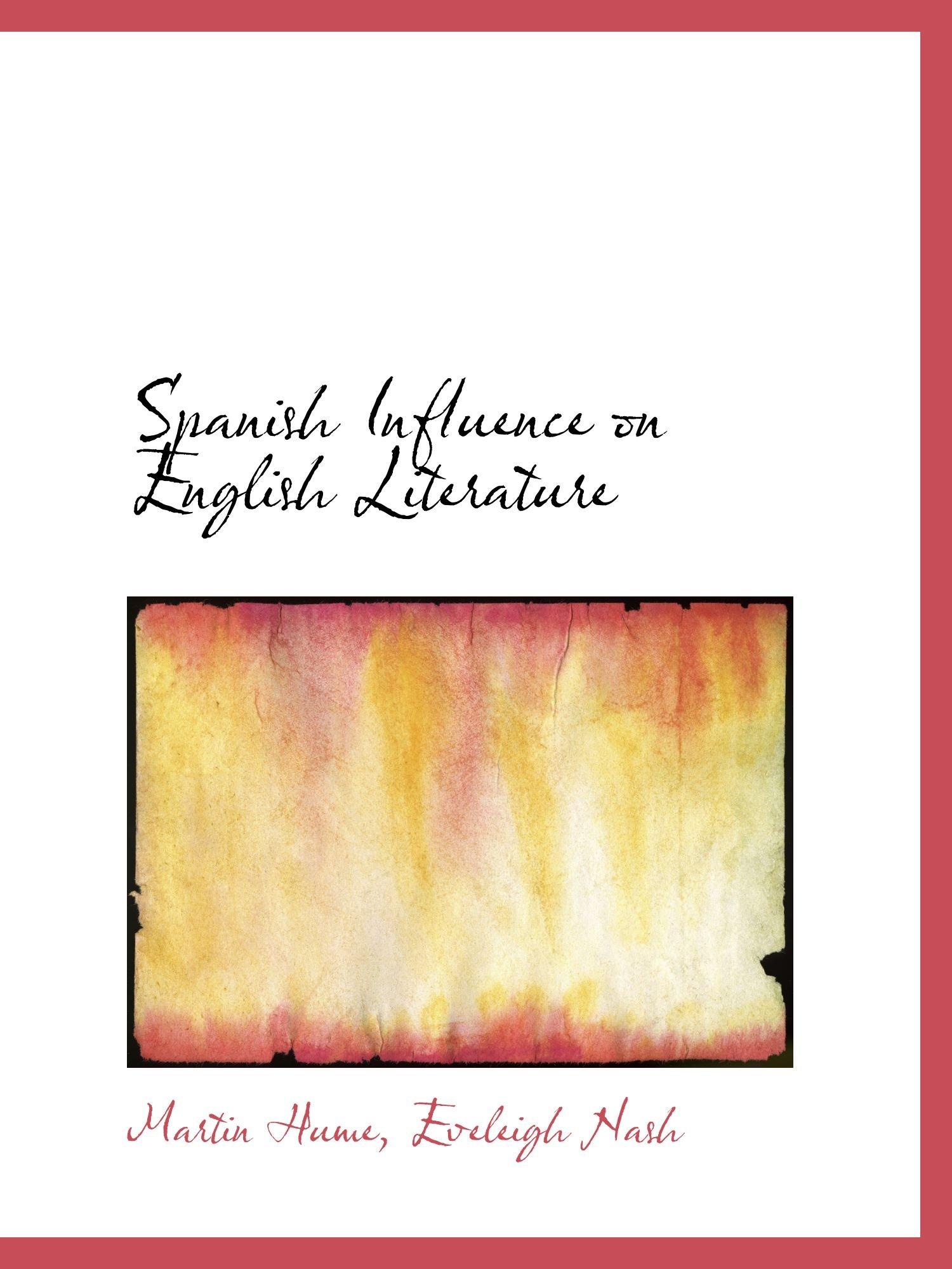 Spanish Influence on English Literature pdf epub