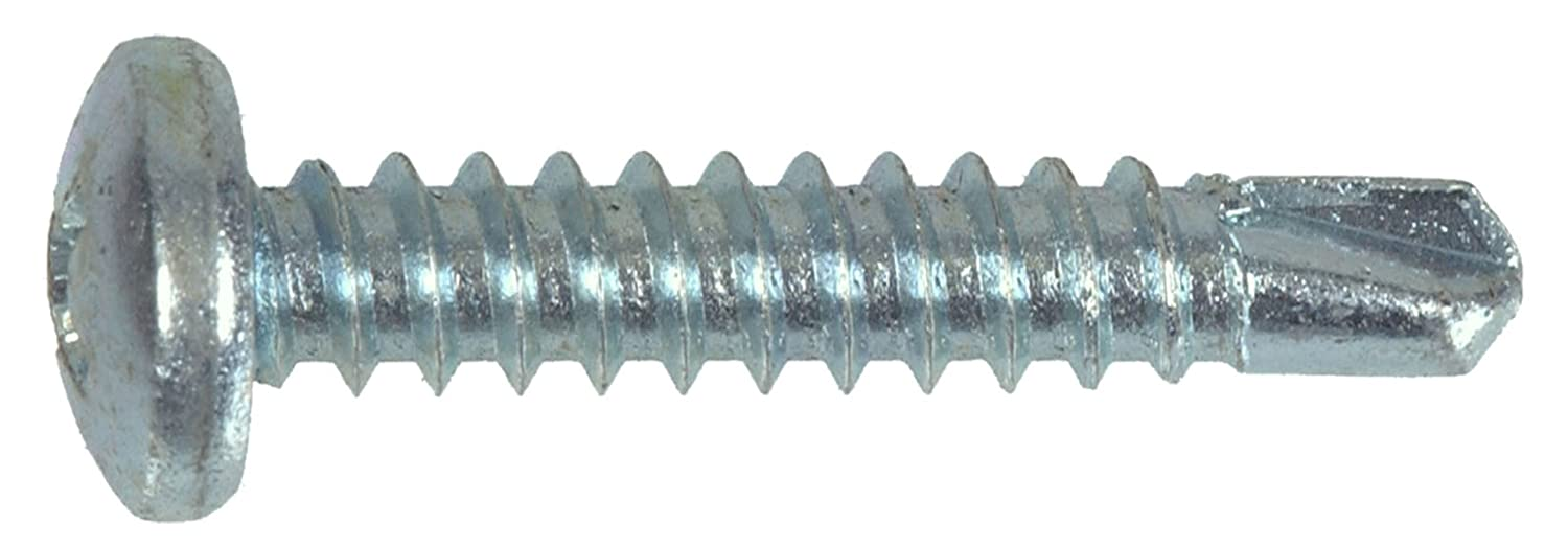 30-Pack The Hillman Group 2650 8-18 x 1-Inch Self Drilling Phillips Pan Head Screw