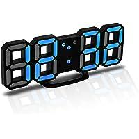 CENTOLLA Reloj Despertador Digital 3D LED, Reloj