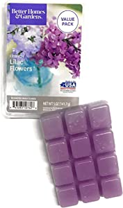 Better Homes and Gardens Scented Wax Cubes French Lilac Flowers, 5 OZ Package