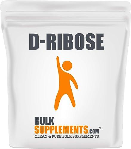 BulkSupplements.com D-Ribose 500 Grams – 1.1 lbs – 100 Servings