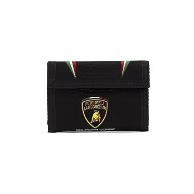 Automobili Lamborghini Squadra Corse Flag Black