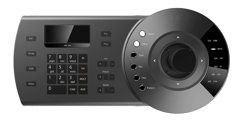 Amazon.com : HDView IP PTZ Camera Controller Network Keyboard and TVI/CVI/AHD/960H PTZ Camera Controller, ONVIF 3D Joystick Plug and Play USB : Camera & ...