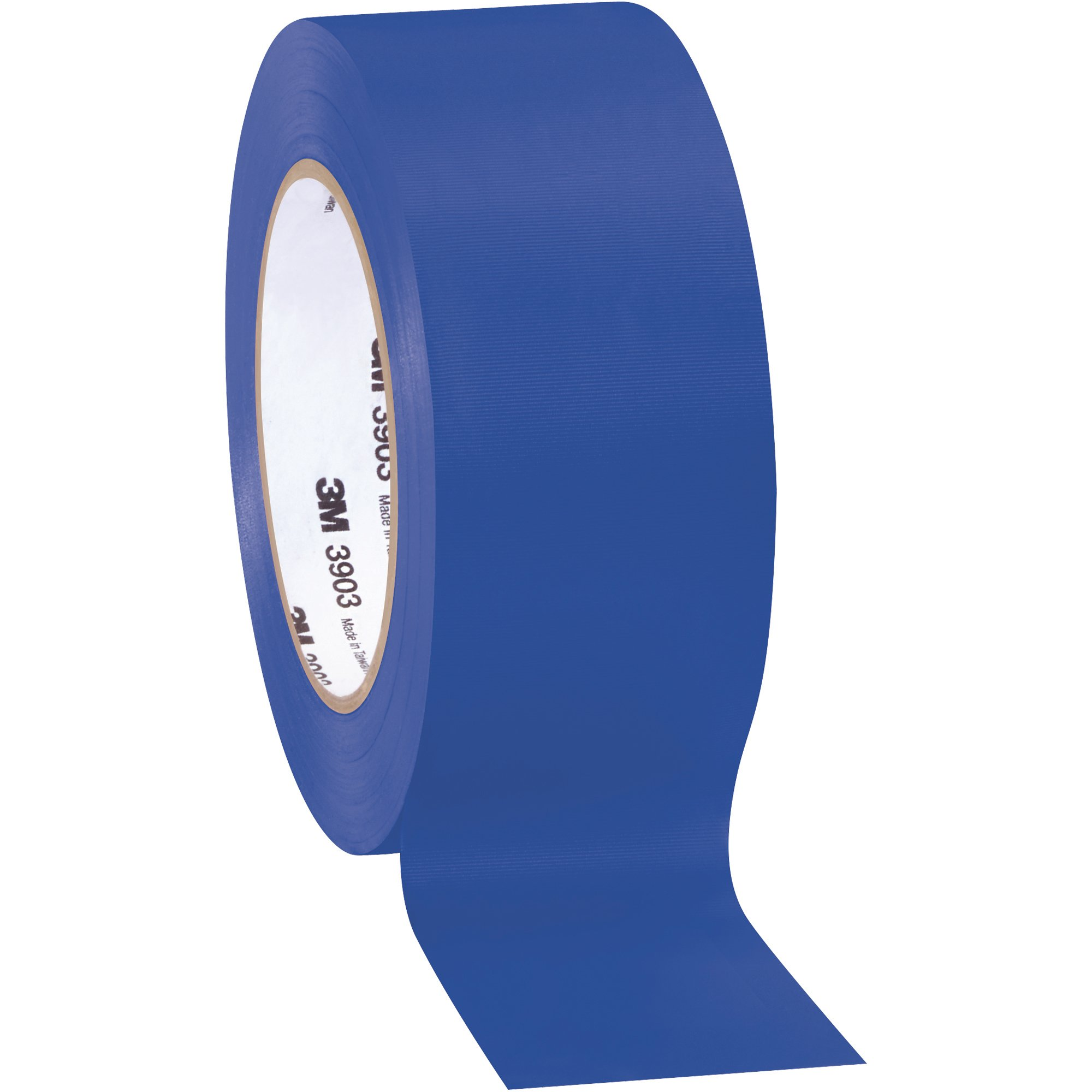 Top Pack Supply 3M 3903 Duct Tape, 6.3 Mil, 2'' x 50 yds. Blue (Case of 3)