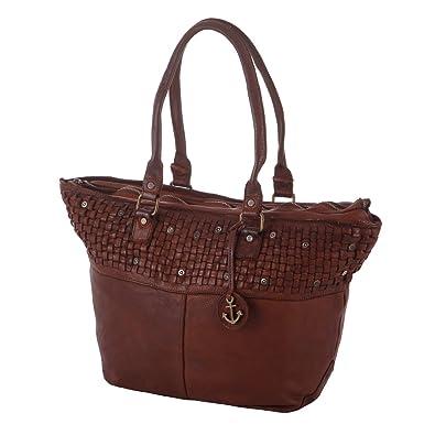 880e1e363e3 Harbour 2nd Women's Tote Bag Black cognac: Amazon.co.uk: Shoes & Bags