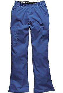 9a08effd37447 Dickies pantalones uniforme medico ajustables  Amazon.es  Ropa y ...