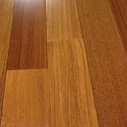 Brazilian Teak Clear Prefinished Solid Wood Flooring 5 X 34