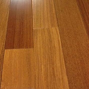 Brazilian Teak Clear Prefinished Solid Wood Flooring  X - Brazilian teak hardwood flooring