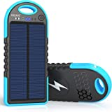 Solar Charger, 10000mAh Wireless Solar Power Bank, 18W Power Delivery USB C Charger, Type C Input & Output, QC 3.0 & PD Fast