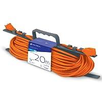 Volteck ER-20X16, Extensión Eléctrica de Uso Rudo, 20 m