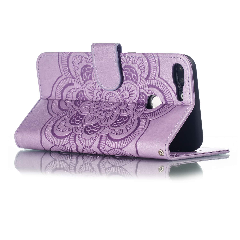 Handyh/ülle Schutzh/ülle Flip Case Tasche H/ülle Leder Geldb/örse Klapph/ülle Kartenfach Brieftasche Magnet Handytasche Lederh/ülle f/ür Huawei Honor 9 Lite,Grau CTIUYA H/ülle f/ür Huawei Honor 9 Lite