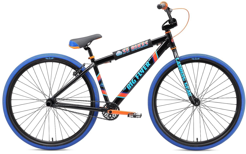 Se Big Flyer 29インチBMX Bike – 2018 B076M6PHR6 29 ブラック ブラック 29