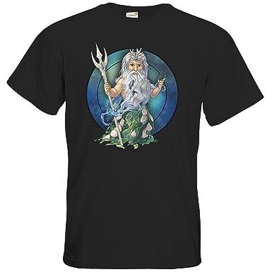 getshirts - Das Schwarze Auge - T-Shirt - Götter - Efferd - Chibi -
