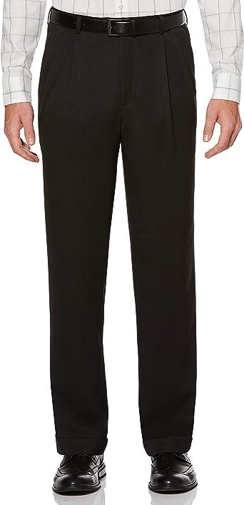 Amazon Com Perry Ellis Pantalon De Vestir De Lino Para Hombre Clothing