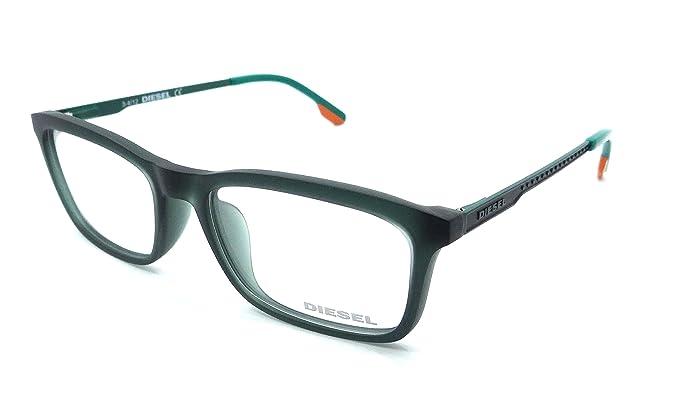 Amazon.com: Diesel Rx Eyeglasses Frames DL4048 098 53-17-140 Matte ...
