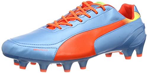 Scarpe DA CALCIO PUMA EVO SPEED 1.2 L FG 102859 04 Blue/Orange