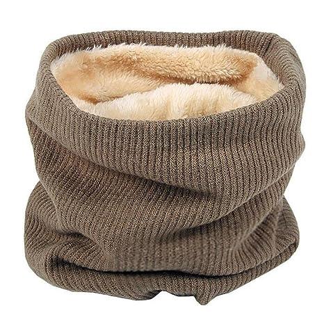 Sunbeter Les écharpes tricotées chaudes d écharpe de femmes tricotées par  écharpe pour des sports 30defe8b5c0