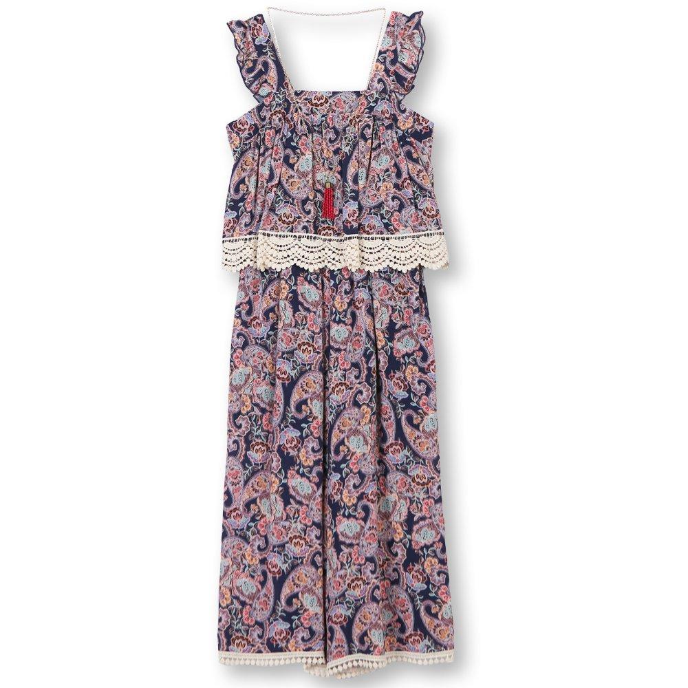 80b6227057a Amazon.com  Speechless Girls  Big Popover Jumpsuit  Clothing