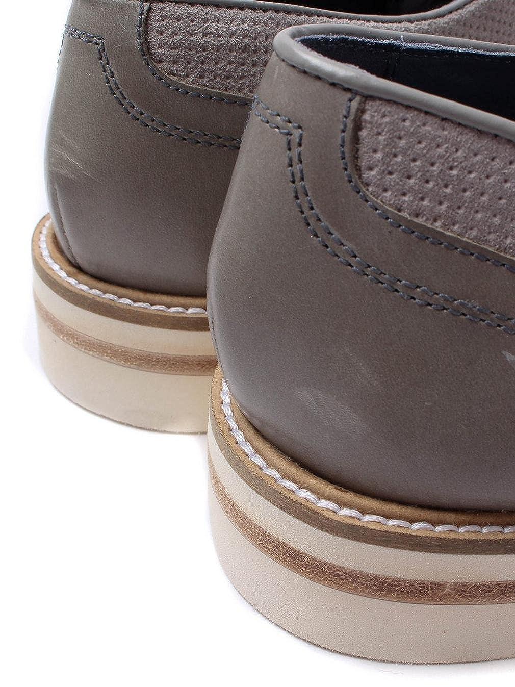 Ted Baker Herren Perforated Light Grau Siablo Perforated Herren Wildleder Schuhe Light Grau 6daf2d