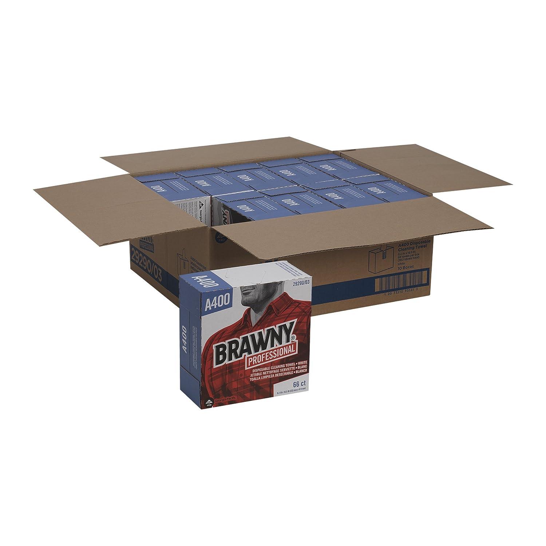 Brawny Industrial blanco de resistencia mediana multiusos servilletas: Amazon.es: Bricolaje y herramientas