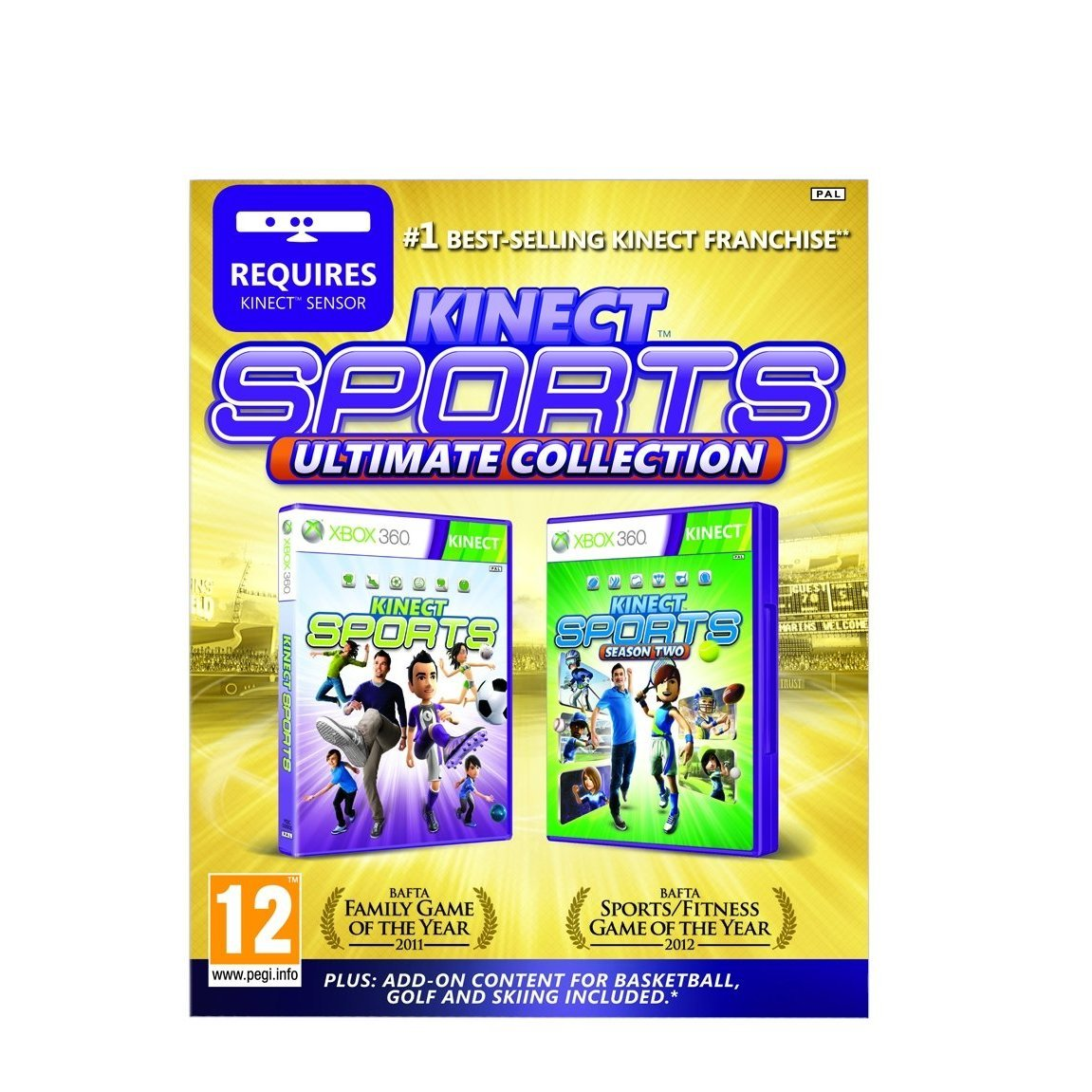 Kinect Sports Ultimate Collection Xbox 360 Region Free Switch Gear Club Unlimited English Pal Games Video