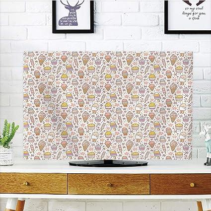 Funda para televisor LCD, diseño romántico con Estrellas y Efectos ...